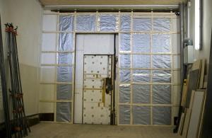 Фото утепления ворот гаража, vorotagate.ru