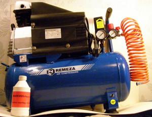 На фото - поршневой агрегат для гаража, rozaliya18.land.ru