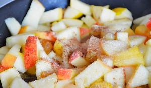 Фото репы с яблоками и корицей, trapeza.su