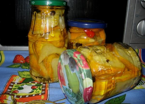 Кабачки в остром соусе на зиму рецепты фото