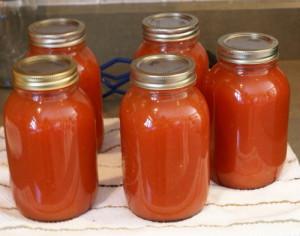 Как перерабатывать помидоры и хранить сок? фото