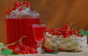 Фото сока красной смородины, palettelife.ru