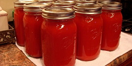 Закатка томатного сока