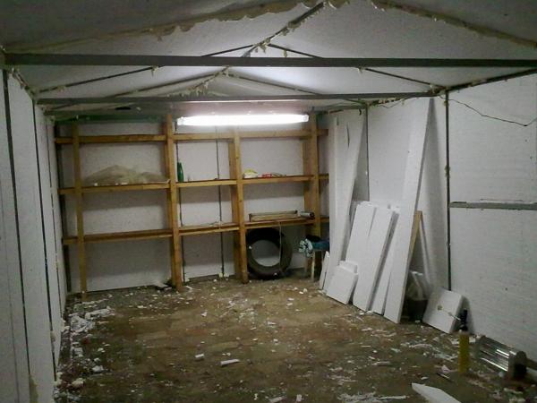 Сделать стеллажи для гаража своими руками фото