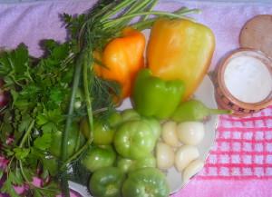 Рецепты фаршированных зеленых томатов