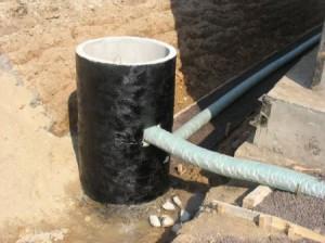 Фото системы отвода воды в бане, canalizator-pro.ru