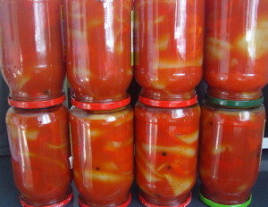 Фото болгарского перца в томате, urozhayniy.com