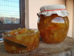 Фото варенья из долек дыни в сахарном сиропе, karamino.blogspot.com