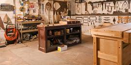 Оборудуем мастерскую в гараже своими руками 118