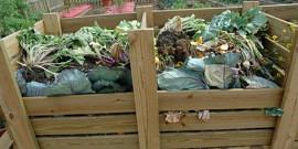 Компостная куча – источник удобрений для огородных растений