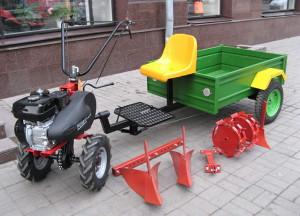 Фото мотоблока с навесным оборудованием, pop-top.net