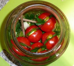 Интересные заготовки из зеленых томатов