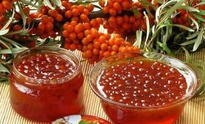 Варенье из облепихи с медом или сахаром – рецепты на зиму фото