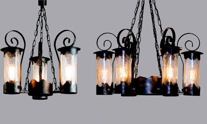 Светильники-люстры для улицы