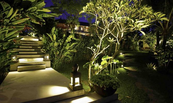 Садовые светильники с автоматизированной системой управления