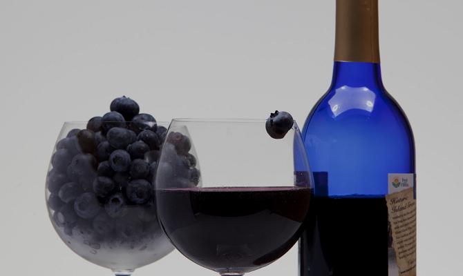 Вино из ягод голубики – элементарный рецепт
