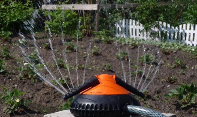 Полуавтоматика для орошения огорода