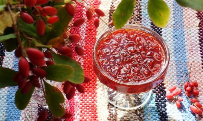 компот из барбариса рецепт на зиму