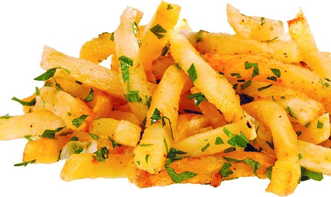 Жареная картошка фри