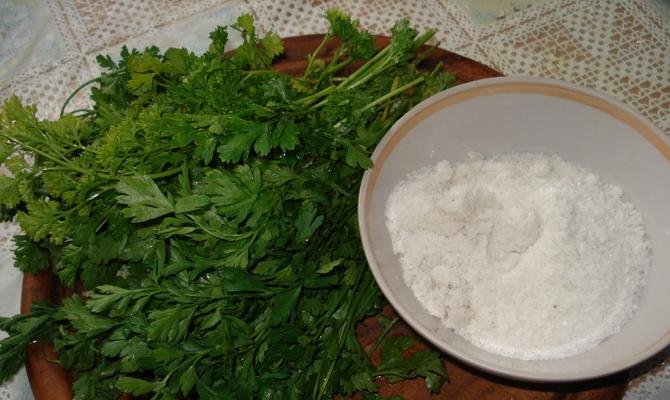 Как заготовить на зиму соленый овощ? фото