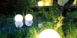 Светильник уличный шар – выбираем сферические плафоны для участка