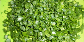 Зеленый лук – заготовка на зиму свежих перьев разными способами