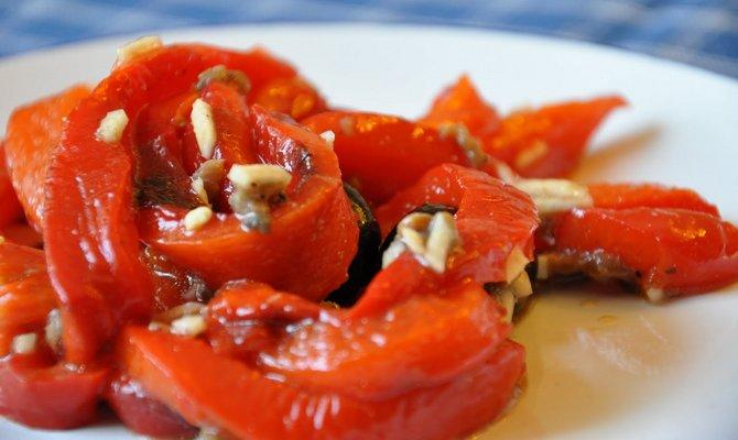 перец на мангале рецепт с фото