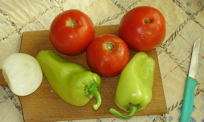 Заготовки перца с другими овощами