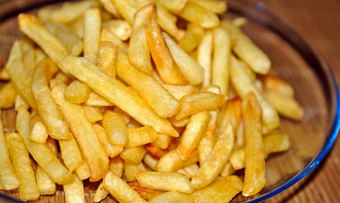 Вкусная жареная картошечка