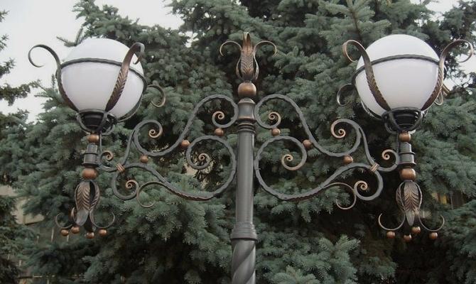 Обтекаемые шарообразные фонари