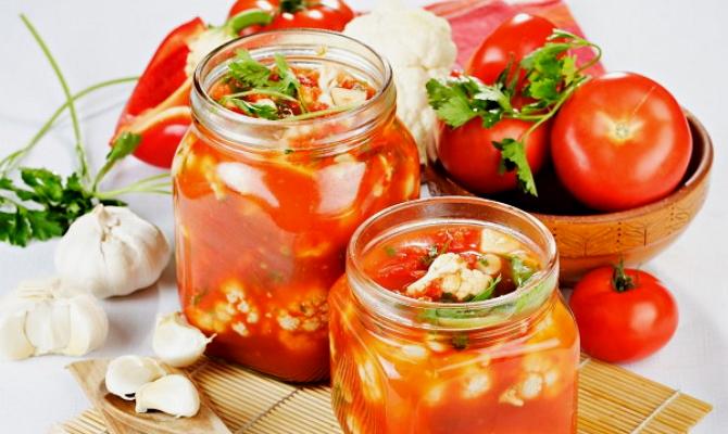 Закрутка в томатном соусе