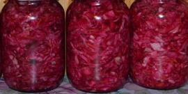 Как приготовить маринованную капусту с чесноком?