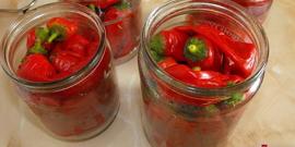 Как заготовить красный перец на зиму?