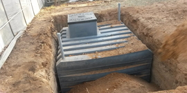 Пластиковый кессон для погреба
