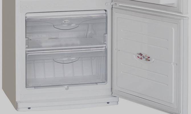 Вынимающиеся поддоны морозильной камеры