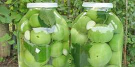 Маринованные зеленые помидоры на зиму – как их приготовить вкусно?