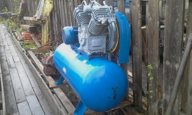 Двухцилиндровый агрегат
