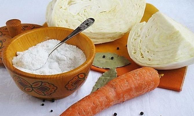 Соль для соления или квашения