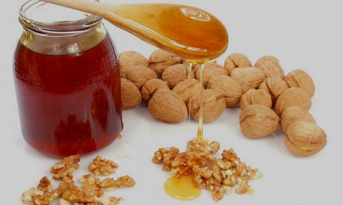 Ингредиенты для смеси от язвы желудка