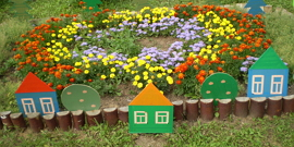 Как оформить клумбу перед домом – методика принятия правильных решений