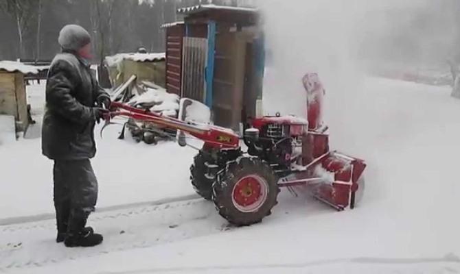 Снегоуборочный агрегат