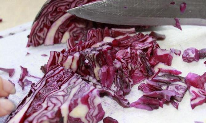 Маринование – быстрый и простой способ заготовки краснокочанной капусты