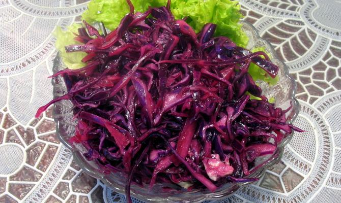 Засолка красной капусты – быстрая альтернатива квашения