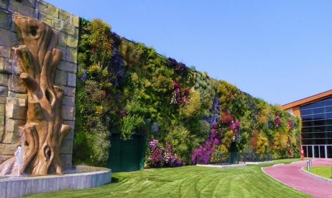 Где пригодится вертикальное озеленение?