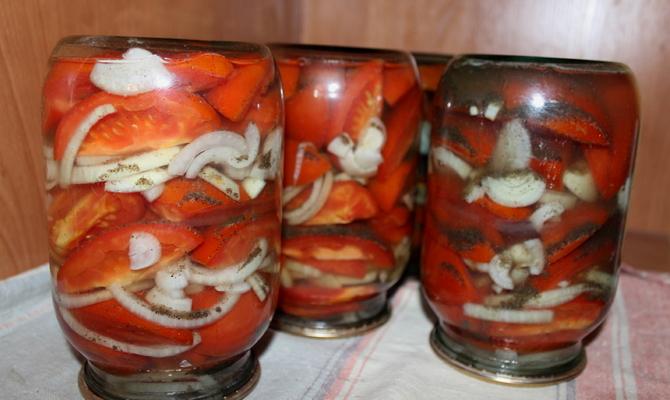 Необычные способы заготовки помидоров впрок