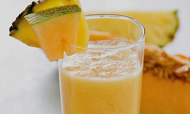 Фреш из дыни – витаминный состав