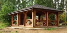Летняя беседка с мангалом – создаем уютную зону комфорта на даче