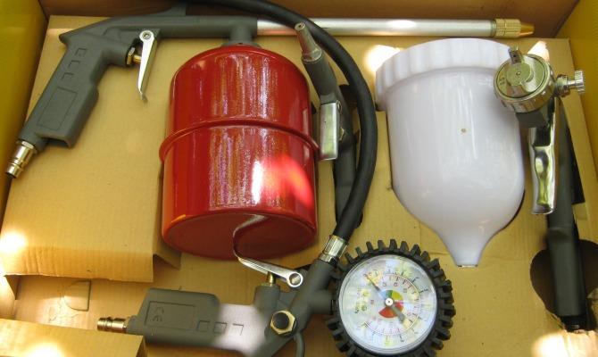 Другие нюансы выбора и особенности подбора оборудования для покраски