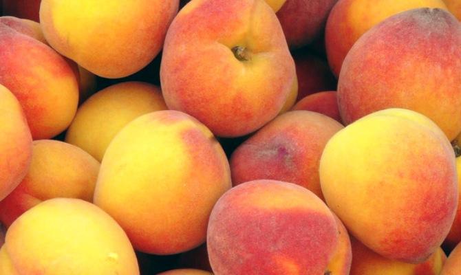 Как подготовить персики–отбираем, моем, режем