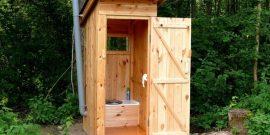 Как избавиться от запаха в дачном туалете без откачки